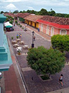 La Calzada desde Hotel Ruben Dario - Granada, Nicaragua [comentario por suchitoto.tours@gmail.com]