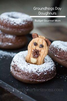 Groundhogs Day Doughnuts {budgetgourmetmom.com}