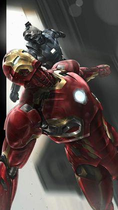 Iron Man War Machine Art iPhone Wallpaper Marvel Universe – Anime Characters Epic fails and comic Marvel Univerce Characters image ideas tips Marvel Comic Universe, Marvel Heroes, Marvel Avengers, Iron Man Hd Wallpaper, Avengers Wallpaper, Wallpaper Art, Iron Man Photos, Iron Man Art, Iron Man Avengers