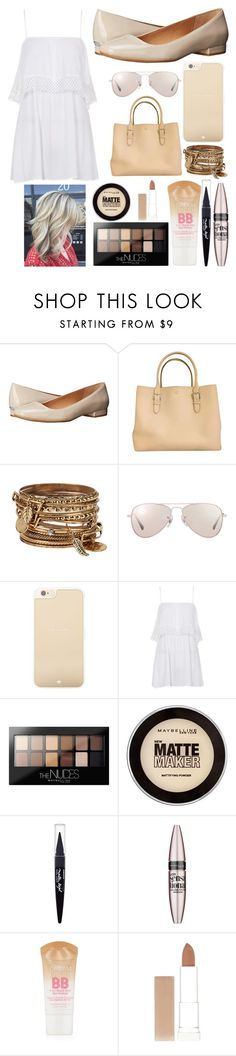 """Walking"" by jilliaw ❤ liked on Polyvore featuring Calvin Klein, Kate Spade, ALDO, Ray-Ban, Topshop, Maybelline, women's clothing, women, female and woman"