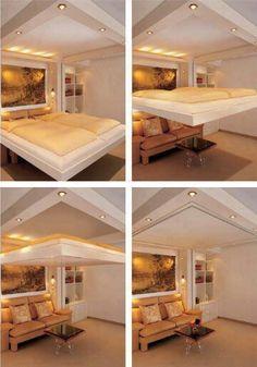 Projeto de cama interessante!