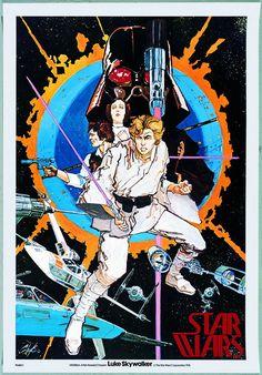 1976 Star Wars poster