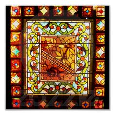 Poster-Vintage Stained Glass Art-28