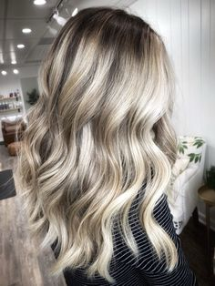 High contrasy Life Happens, Shit Happens, Toasted Marshmallow, Blonde Balayage, Your Hair, Hair Color, Long Hair Styles, Girly, Beauty