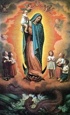 Our Lady of Guadalupe. Virgin Mary. Catholic.
