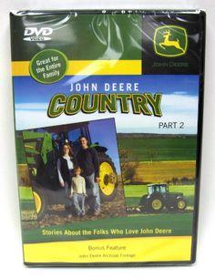 John Deere Country Part 2 DVD 1 hour 30 min.