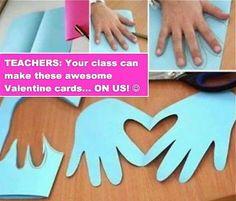 Easy preschool craft for vday party