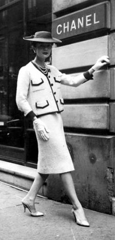 chanel style dress and jacket | Miss Perfection Loves – Coco Chanel