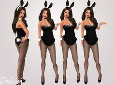 .:: DELISH ::. Cute Bunny Costumes - Black