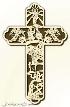 cross Scroll Saw Patterns | Scroll Saw Patterns :: Religious & Inspirational :: Themed picture ...
