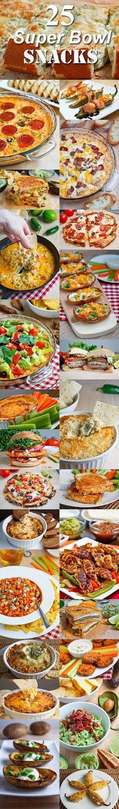 Closet Cooking: 25 Scrumptious Super Bowl Snacks