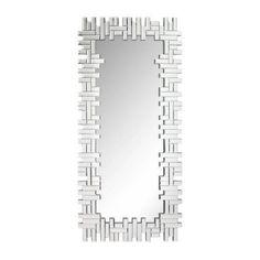 Dieser Wandspiegel ist genau richtig für Ihr modernes Zuhause: Der rechteckige Spiegel ist aus hochwertigem Spiegelglas hergestellt und mit einem aufwendigen Mosaikmuster veredelt. Holen Sie sich gewohnte XORA Qualität in Ihr Zuhause und montieren Sie den Wandspiegel beispielsweise in Ihr Schlafzimmer oder in Ihren Flur. Er schmückt Ihre vier Wände auf moderne Weise!