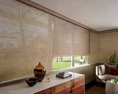 Contemporary Window Shades | Screen Shades with Cordless system - contemporary - window treatments ...