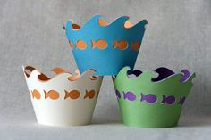Under the Sea Cupcake Wrappers. $12.00, via Etsy.