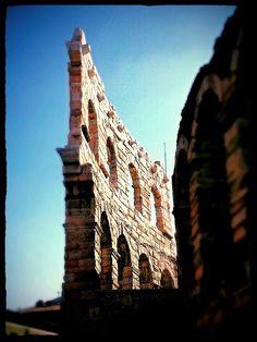 The ancient Roman Arena in Verona Italy @GardaConcierge