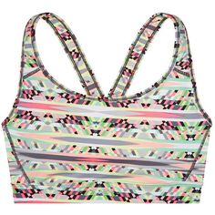 Victoria's Secret The Player by Victoria's Secret Crossback Sports Bra ($30) ❤ liked on Polyvore