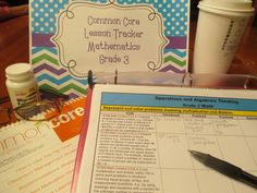 Free Common Core Lesson Plan Organizers for Math and ELA Editable for Grades K-12