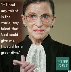 Supreme Court Justice Ruth Bader Ginsburg, would like to stay working until she is 90 years old. If Ginsburg remains on the Supreme Court for 5 more years, she could outlast Donald Trump as president. Ruth Bader Ginsburg Zitate, Ruth Bader Ginsburg Quotes, Justice Ruth Bader Ginsburg, Voter Id, Katie Couric, Beautiful Female Celebrities, Supreme Court Justices, Powerful Women, Feminism