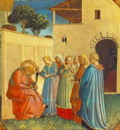 Fra Angelico - The Naming of St.John the Baptist