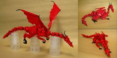 Smaug the Chiefest and Greatest of Calamities by Fat Tony 1138, via Flickr
