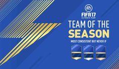 Fifa 17: sono arrivati i TOTS, le squadre della stagione! Oggi, 12 maggio 2017, EA Sports ha iniziato il rilascio dei TOTS, le squadre della Stagione, uno dei momenti più attesi dagli appassionati di Fifa 17 e soprattutto della modalità Ultimate Team. Come  #tots #fifa17 #fut
