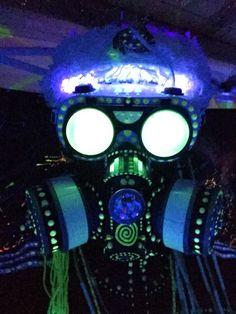Techno Shaman. Goggles and respirator. Progenitor Tech,  INSTAGRAM…