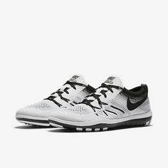 reputable site 838d0 990f8 Nike Free Tr Focus Flyknit Womens Training White Black Sale Outlet
