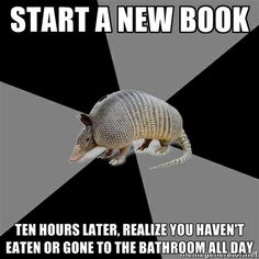 that sounds like me - except my kindle has to be recharged a little more frequently then 10 hours