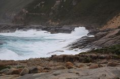 Breezy day off the coast of Albany, Western Australia