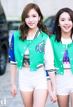 TWICE Mina and Chaeyoung