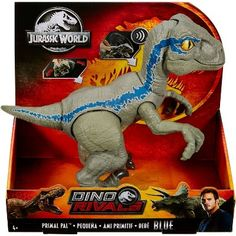 Superb Jurassic World Primal Pal Blue Dinosaur Toy Now at Smyths Toys UK. Shop for Jurassic World At Great Prices. Free Home Delivery for orders over Dinosaur Gifts, Dinosaur Toys, Dinosaur Stuffed Animal, Stuffed Animals, Kids Camping Bed, Blue Jurassic World, Baby Girl Toys, Mattel, Toys Uk