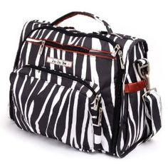 Ju Ju Be Bff Diaper Bag in Safari Stripes
