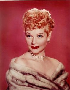 """Once in his life, every man is entitled to fall madly in love with a gorgeous redhead."" -Lucille Ball"