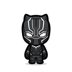 The level of details on the Black Panther suit is stunning. I thought the design - Be Batman - Ideas of Be Batman - The level of details on the Black Panther suit is stunning. I thought the design would be Batman-y o mvnchk Chibi Marvel, Marvel Art, Marvel Dc Comics, Marvel Heroes, Marvel Avengers, Avengers Cartoon, Marvel Cartoons, Baby Avengers, Black Panthers