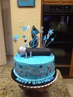 Microphone cake 11
