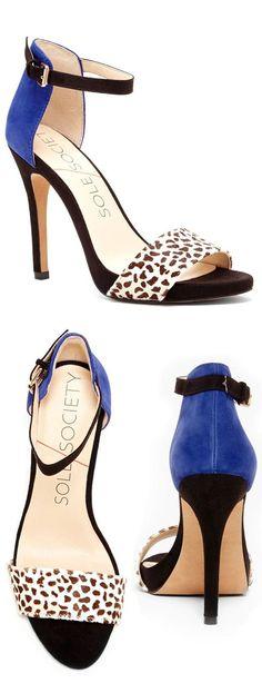 Blue Polka Dot Heels ❤︎ SO cUte
