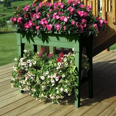 Rectangular Deluxe Garden Planter