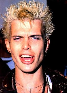 Billy Idol - My favorite singer EVER!! Can't wait to be him for Halloween!!