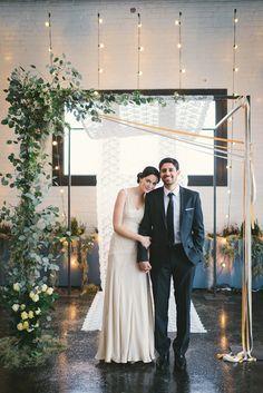 bring garden romance indoors, photo by Kate Ignatowski http://ruffledblog.com/new-orleans-inspired-wedding-ideas #weddingideas