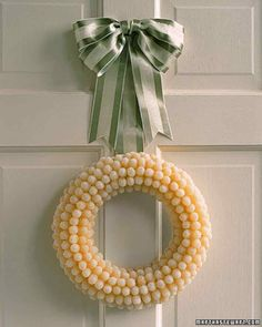 White Christmas: Gumdrop Wreath