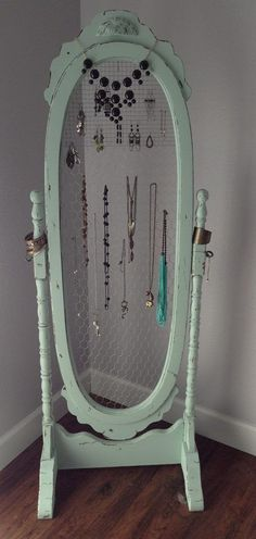 Repurposed Mirror Picture Frames Ideas - Enter DIY