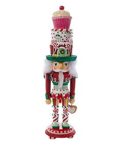 Loving this Hollywood Cupcake & Sweets Nutcracker on #zulily! #zulilyfinds