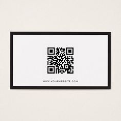 Black and White QR Code Consultant Business Card - attorney lawyer business personalize unique counsel