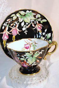 'Vintage Bone China Hammerley Tea Cup & Saucer - England'