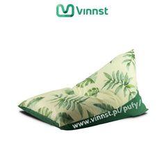 Poducha KLIN do siedzenia. Tropikalny motyw to HIT tego sezonu wśród wnętrzarskich inspiracji i propozycji projektantów.