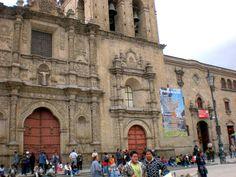 Iglesia de San Francisco - La Paz (frente)