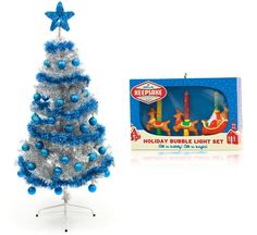 I got a retro silver tree!! What Kind Of Christmas Tree Should You Get?