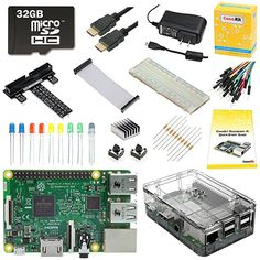 CanaKit Raspberry Pi 3 Ultimate Starter Kit - 32 GB Edition Starter Kit 81b018b56607
