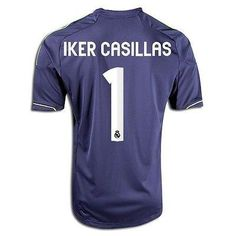 bf59f5ed8 ADIDAS IKER CASILLAS REAL MADRID AWAY JERSEY 2012 13. 110 Years of  Excellence!