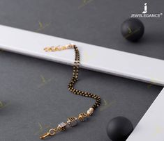 New Age Bracelet And Ring Mangalsutra Designs For 2020 Brides Jewelry Design Earrings, Gold Jewellery Design, Diamond Jewelry, Gold Wedding Jewelry, Gold Jewelry Simple, Mangalsutra Bracelet, Gold Mangalsutra Designs, Antique Jewellery Designs, Indian Jewelry Sets